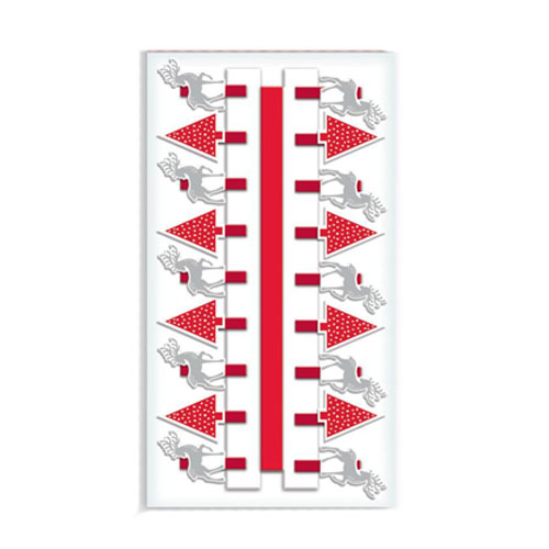 Contemporary Christmas Card Holder Decorative Pegs - Pack of 18 Product Image