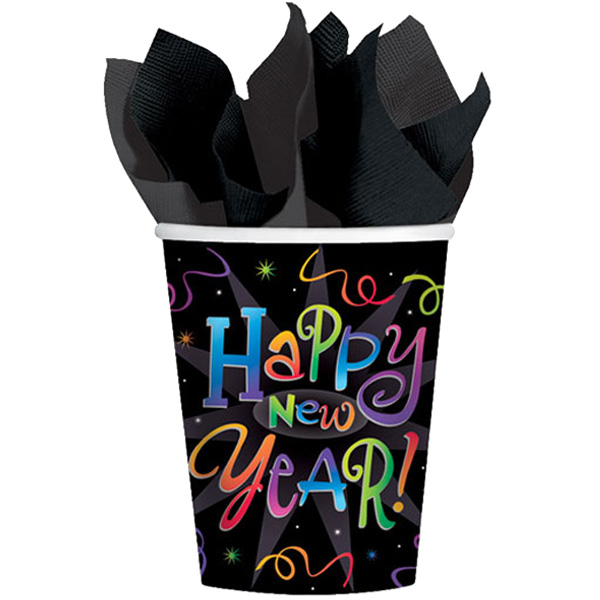 Countdown Celebration Paper Cup 266ml