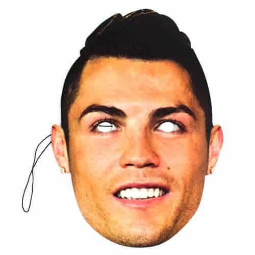 Cristiano Ronaldo Cardboard Face Mask
