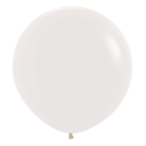 Crystal Clear Biodegradable Jumbo Latex Balloons 61cm / 24 Inch - Pack of 3 Product Image