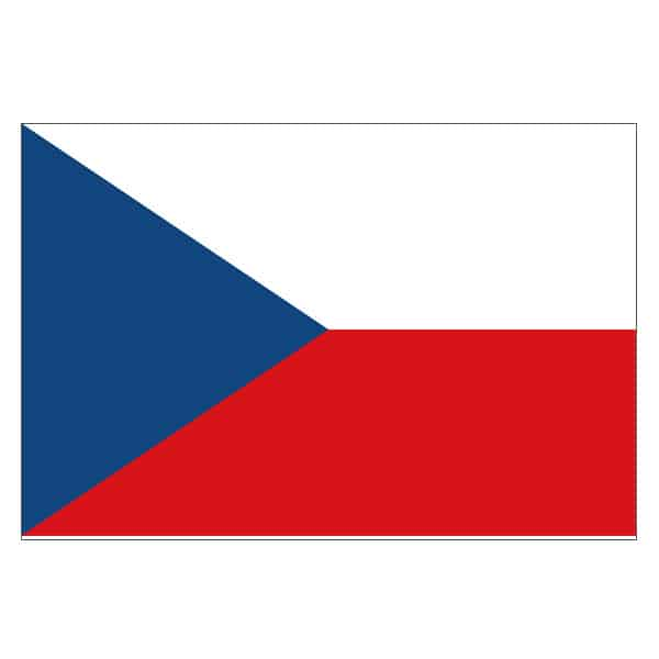 Czech Republic Flag - 5 x 3 Ft