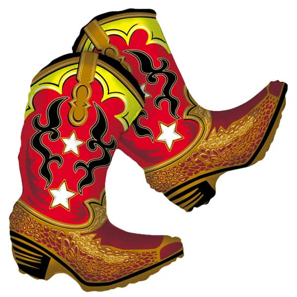Dancing Boots Helium Foil Giant Balloon 91cm / 36 in