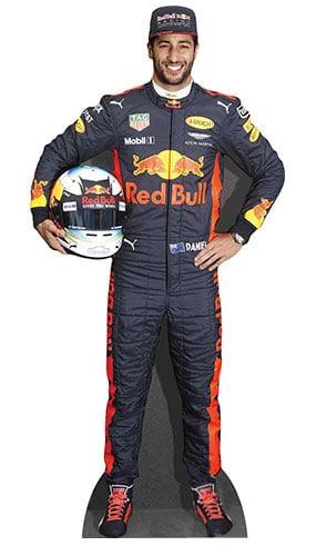 Daniel Ricciardo Lifesize Cardboard Cutout - 178cm Product Image