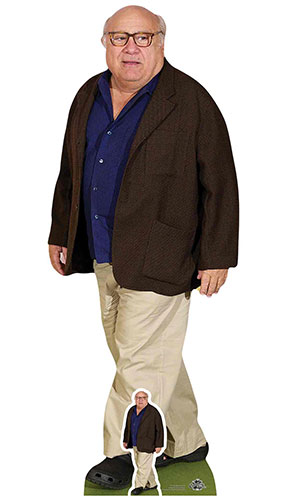 Danny DeVito Blue Shirt Lifesize Cardboard Cutout 148cm Product Image