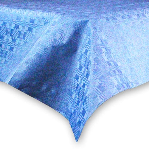 Dark Blue Paper Tablecover - 90cm x 90cm Product Image