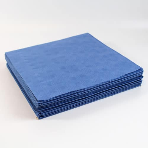 Dark Blue Paper Tablecovers - 90cm x 90cm - Pack of 25 Product Image