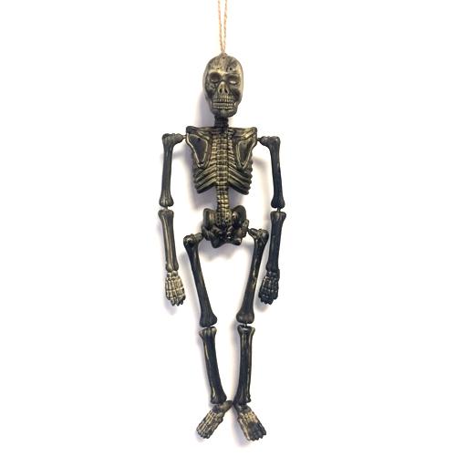 Dark Skeleton Halloween Prop Hanging Decoration 40cm