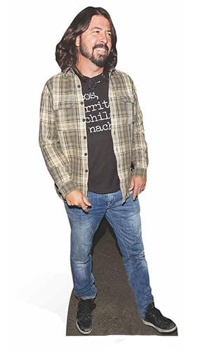 Dave Grohl Lifesize Cardboard Cutout - 181cm Product Image