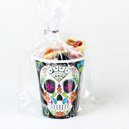 Day of The Dead Skull Candy Cup 160g