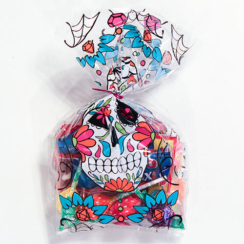 Day Of The Dead Halloween Sweets Treat Bag 125g Product Image