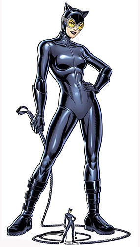 DC Comics Catwoman With Whip Lifesize Cardboard Cutout 179cm Product Image