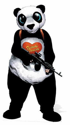 DC Comics Suicide Squad Panda Man Lifesize Cardboard Cutout - 186cm Product Image