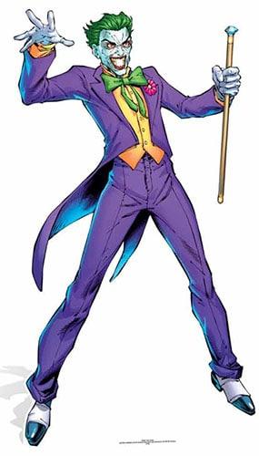 DC Comics The Joker Lifesize Cardboard Cutout - 176cm Product Image