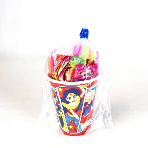 DC Super Hero Girls Candy Cup