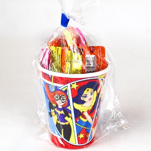 DC Super Hero Girls Value Candy Cup