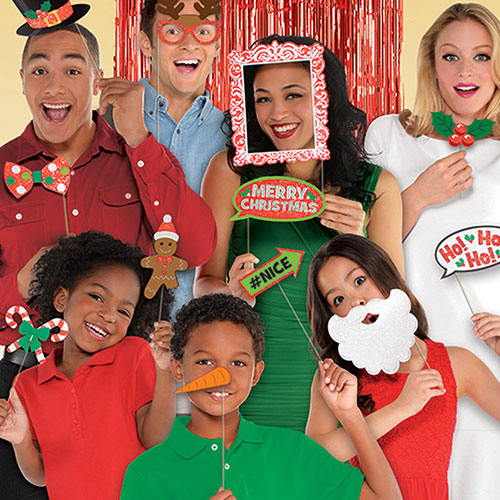 Deluxe Christmas Photo Props - Pack of 21 Product Image