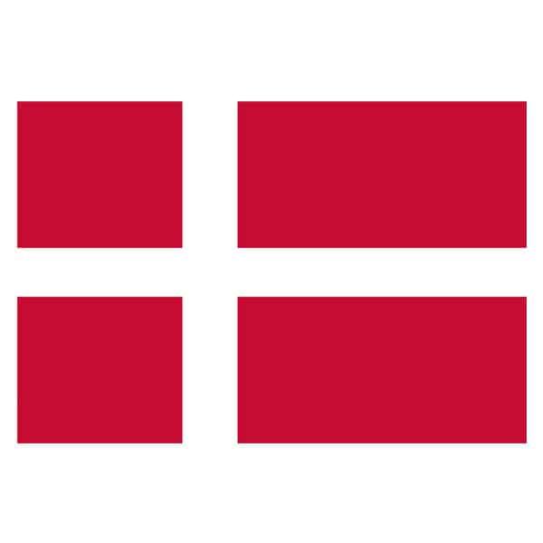 Denmark Flag - 5 x 3 Ft
