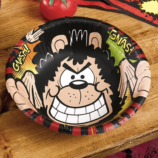 Dennis the Menace Paper Bowl - 7 Inches / 17cm
