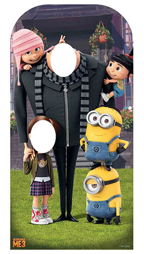 Despicable Me 3 Stand In Lifesize Cardboard Cutout 185cm