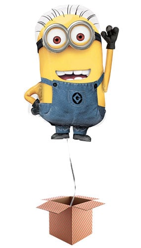 Despicable Me Minion Helium Foil Giant Balloon - Inflated Balloon in a Box Product Image