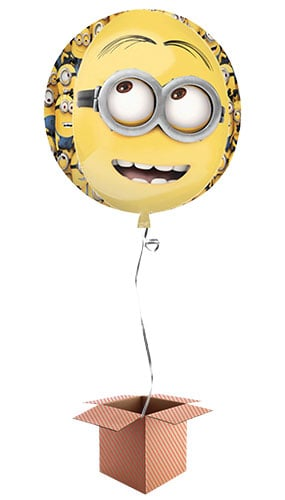 Despicable Me Minions Orbz Foil Balloon - Inflated Balloon in a Box Product Image