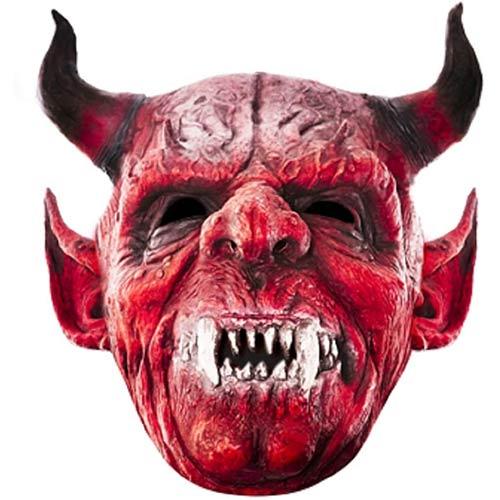 Devil Cardboard Face Mask
