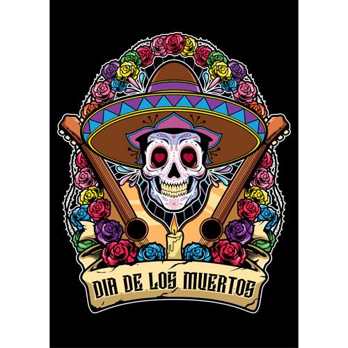 Dia de los Muertos Sombrero Halloween A3 Poster PVC Party Sign Decoration 42cm x 30cm Product Gallery Image