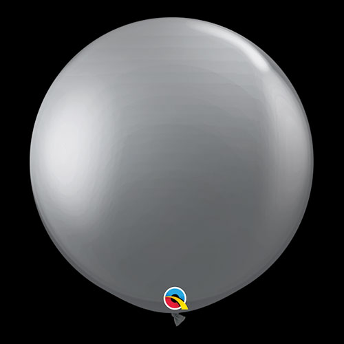 Diamond Clear Round Latex Qualatex Balloons 46cm / 18 in - Pack of 25