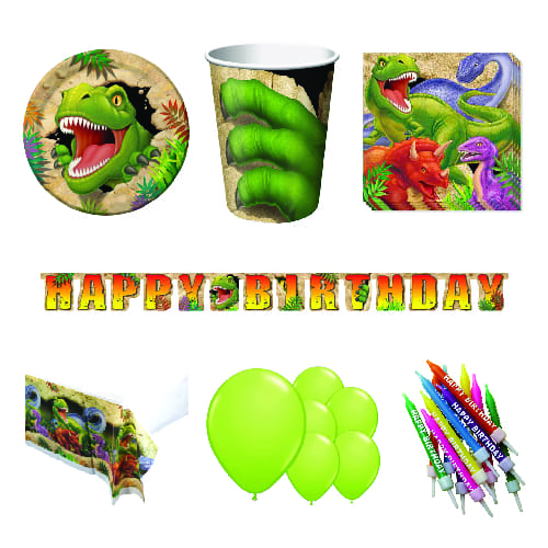 Dino Blast 8 Person Deluxe Party Pack