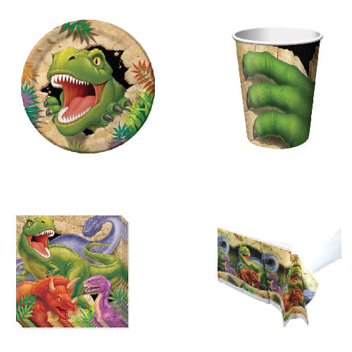 Dino Blast 8 Person Value Party Pack