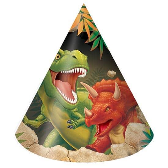 Dino Blast Cone Party Hat