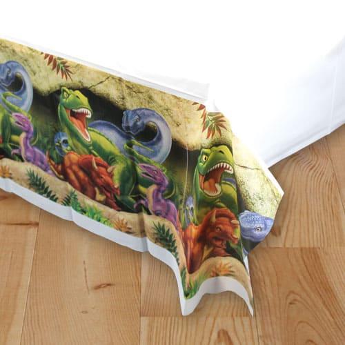 Dino Blast Plastic Tablecover 274cm x 137cm