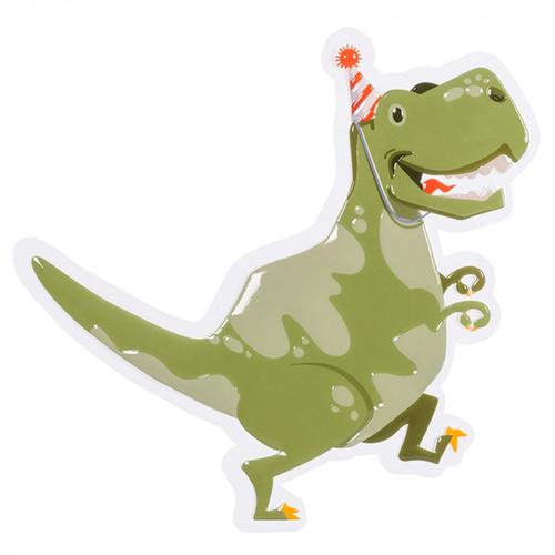 Dinosaur Fun Party Plastic Wall Decoration 49cm