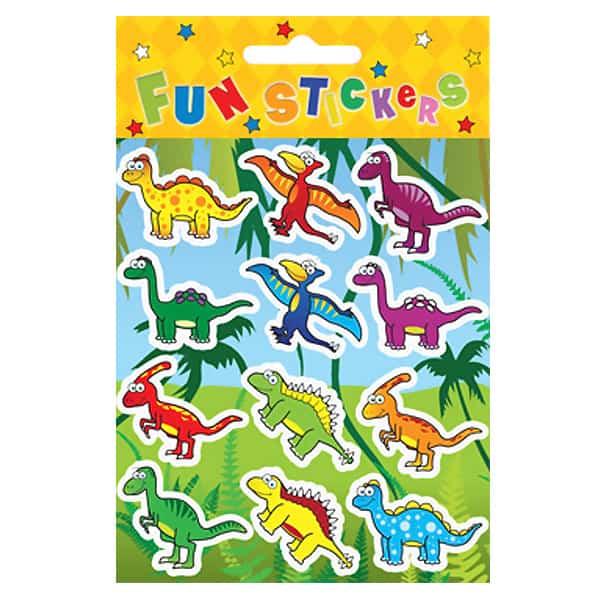 Dinosaur Sticker Sheet Product Image