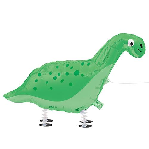Dinosaur Walking Pet Foil Helium Balloon 94cm / 37 in Product Image