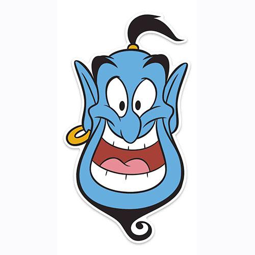 Disney Aladdin Genie Cardboard Face Mask for Children Product Image