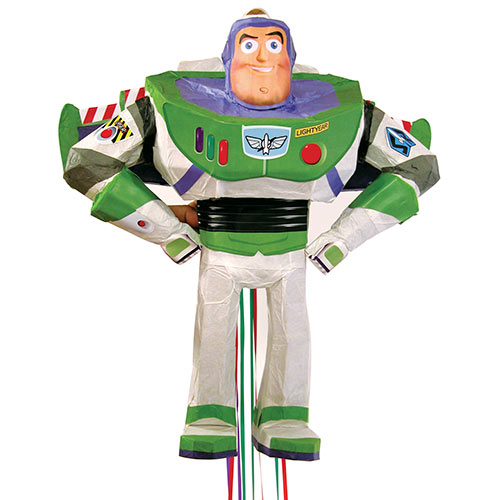 Disney Buzz Lightyear 3D Pull String Pinata