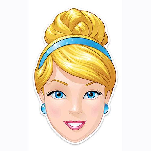 Disney Cinderella Cardboard Face Mask for Children