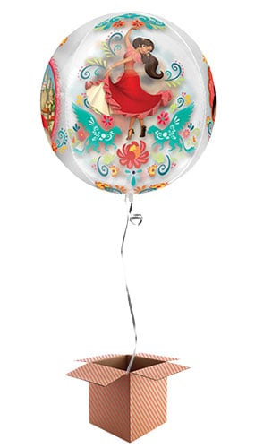 Disney Elena Of Avalor Orbz Foil Balloon - Inflated Balloon in a Box Product Image