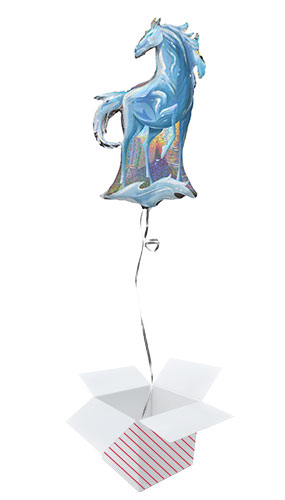 Disney Frozen 2 Nokk Holographic Helium Foil Giant Balloon - Inflated Balloon in a Box Product Image