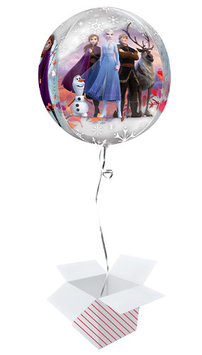 Disney Frozen 2 Orbz Foil Helium Balloon - Inflated Balloon in a Box Product Image