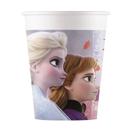 Disney Frozen 2 Paper Cups 200ml - Pack of 8 Bundle Product Image