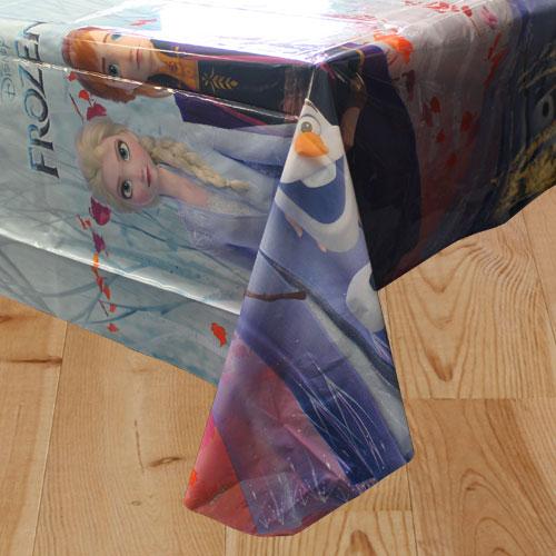 Disney Frozen 2 Plastic Tablecover 180cm x 120cm Bundle Product Image