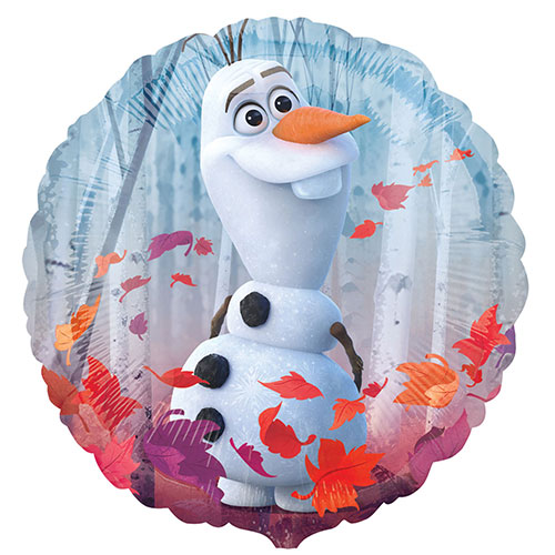 Disney Frozen 2 Round Foil Helium Balloon 43cm / 17 in Product Gallery Image