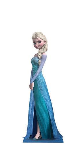 Disney Frozen Elsa Mini Cardboard Cutout - 96cm