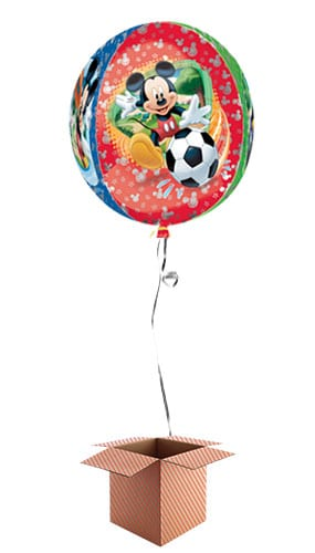 Disney Mickey Mouse Clear Orbz Balloon - Inflated Balloon in a Box Product Image