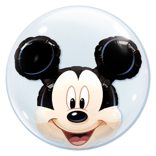 Disney Mickey Mouse Double Bubble Helium Qualatex Balloon 61cm / 24 in Product Image