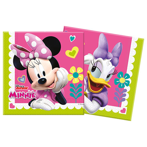 Disney Minnie Mouse Luncheon Napkins 33cm 2Ply - Pack of 20 Product Gallery Image