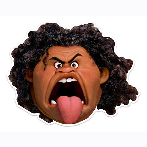 Disney Moana Maui Cardboard Face Mask for Children