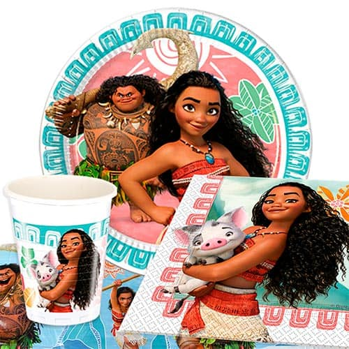 Disney Moana 8 Person Value Party Pack